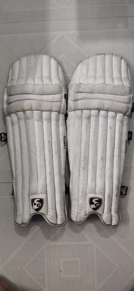 SG campus Leather Ball Leg Pads