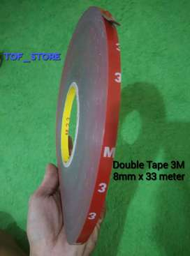 Double Tape 3M 8mm x 33 meter