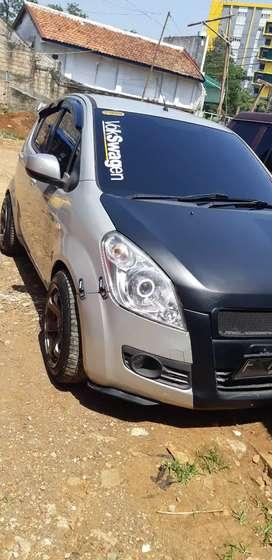 Suzuki splash GL 2011 full aksesories