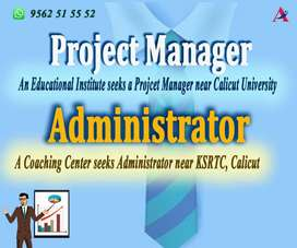 ADMINISTRATOR AND PROJECT MANAGER