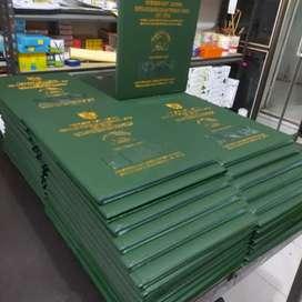 menerima cetak buku rapor k13