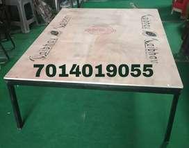 Neww heavy iron plywood bed 4×6