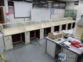 Harga Meja Partisi Kantor 7 x 2 ( Furniture Semarang )