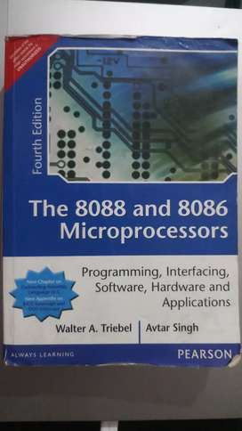 8088 And 8086 Microprocessor Programming Book