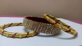SILK THREAD DESIGN BANGLE