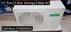 O General [Brand New] 1.5 Ton 5 Star Ratings || Slipt AC