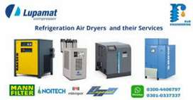 Brand New Refrigeration Air Dryer  , Compressor and their Services