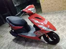 Sports scooty fully automatic
