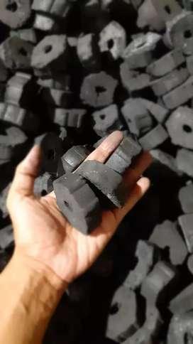 Arang briket hexagonal bbq kualitas ekspor (HARGA PROMO)