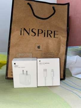 Apple 18 watt fast charger