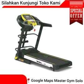 Treadmill Elektrik Running Walking 4 Fungsi Baru 2Hp Double Deck Shock