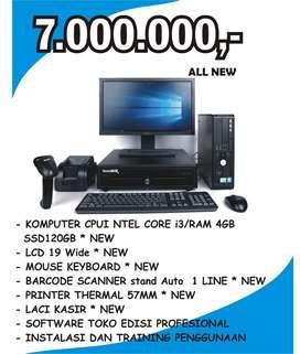 Komputer Kasir Full lengkap Baru