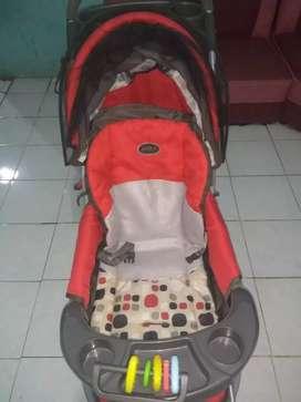 Stroller kereta dorong bayi pliko