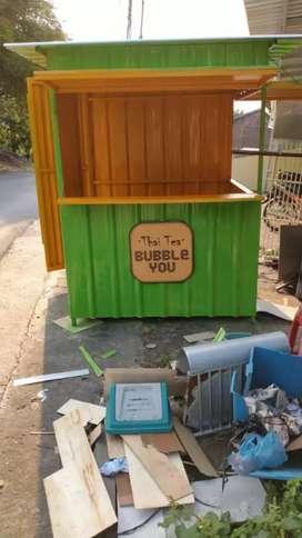 Grobak & Booth Container MURAH