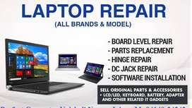 dell hp lenovo laptop repair service center in panchkula chandigarh