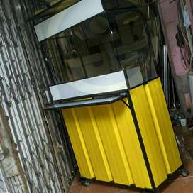 Booth container portable lipat