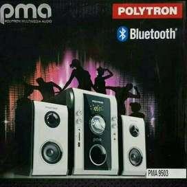 BIG SPK Polytron PMA 9503 Multimedia Audio Bluetooth+USB+RADIO+REMOTE