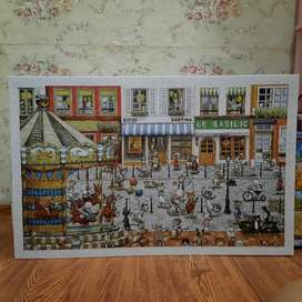 Jigsaw Puzzle Pintoo Cat's Paradise Kucing 1000pcs [Bahan Plastik]