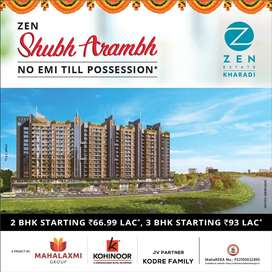 Now Live In The Heart Of Kharadi - 2 BHK in Zen Estate Kharadi