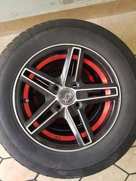 13 inch alloy rims and tyres
