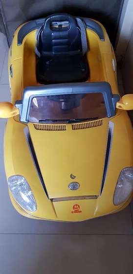 Kids Own Car - exciting electronic car.