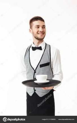 Waiters / bar boys in five star hotel/club/mall in delhi /NCR