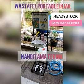 Wastafel wastafel portable (injak, tnpa sentuh tangan)