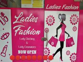 Running ladies Shop business For sale