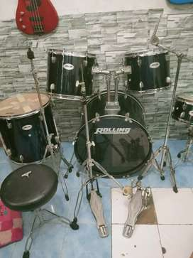 Drum roling mulus normal