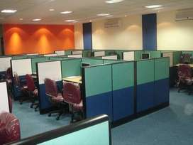 Shared Office Space for rent at Rs 3999/seat incl maintenance