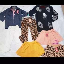 Pakaian Baby girl size 2-4th @35rb aja, SEMUA BARU!