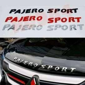 AN PAJERO SPORT = Emblem Depan Kap Mesin = kikim veteran-1