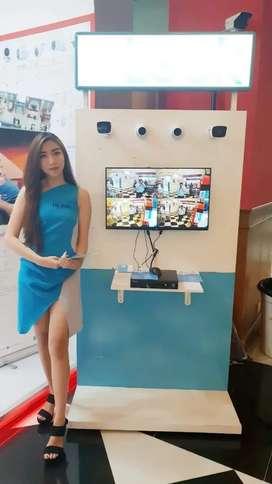 CCTV bergaransi dengan promo AKHIR JULI BUY 4 KAMERA FREE 1