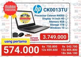 Kredit laptop HP CK0013TU