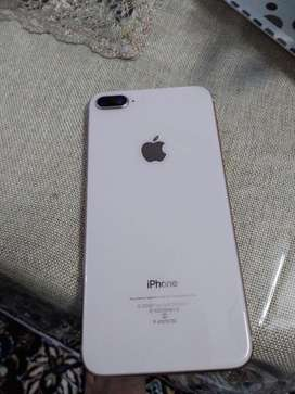 Iphone 8 plus 64 GB with box , bill charger , ear phone