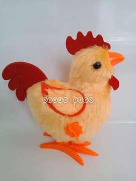 Mainan Ayam Jago Jumbo Berjalan Model Putar Murah   Ayam-Ayaman