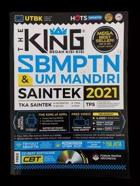 PRELOVED BUKU THE KING SBMPTN UM MANDIRI SAINTEK 2021