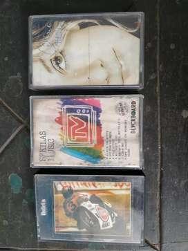 3 cassette Celune Dion, Sekilas Music TV, DiscoMania.