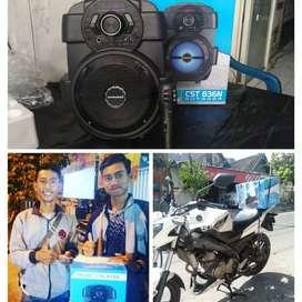 speaker portable karaoke simbadda cst836n new bluetooth musik