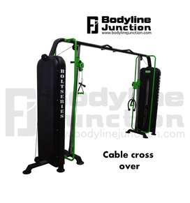 Full gym machine setup at nominal cost in best look direct by company.