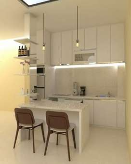 kitchenset,  lemari, meja,  meubel costume free interior desain