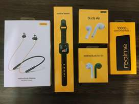 Seal Pack realme Smart Watch With GST Bill