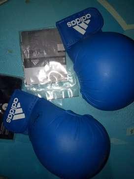 Dijual handprotector adidas warna biru size s eropa