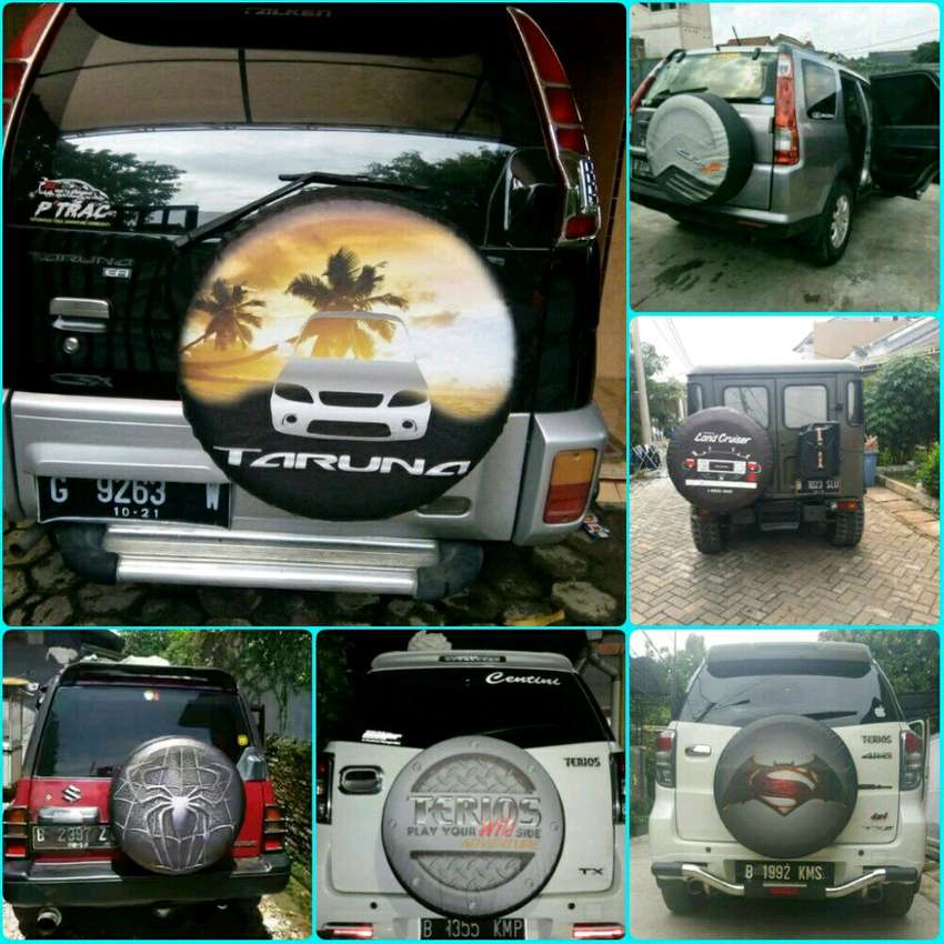 Escudo Cover Ban Rush Everest Terios Sarung Ban Taruna Vitara Jeep 183 0