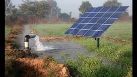 """Solar Tube well Dc Motor Pump 2"""" 3"""" 4"""" without inverter direct Solar."""