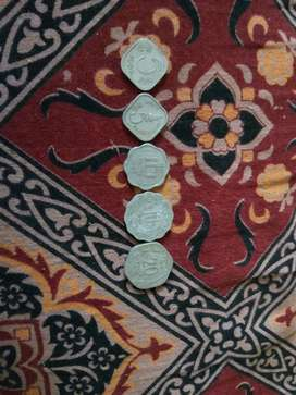 Antique Indian currency