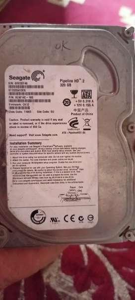 Terabyte gold detachable harddisk and Seagate harddisk