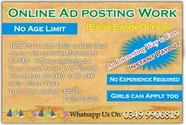 Online Jobs - Employees Required