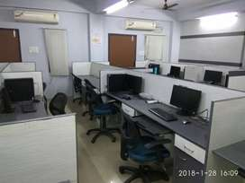 40 work stations office for rent in Uppal. NOT FOR REAL ESTATE