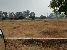 Residential plot in defence enclave at defence road near Victoria est.
